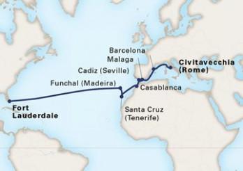Crucero Viaje al Nuevo Mundo