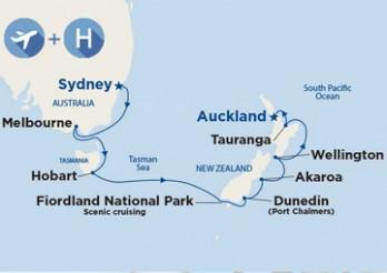 Crucero Viaje Completo: Australia y Nueva Zelanda desde Barcelona