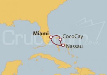 Crucero Bahamas desde Miami (EE UU)