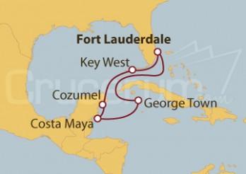 Crucero EE UU, México e Islas Caimán