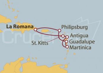 Crucero República Dominicana y Antillas