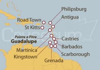 Crucero La Magia del Caribe y Dulces pequeñas Antillas