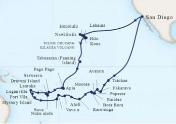 Crucero Vuelta al Mundo - Cuentos del Pacífico Sur