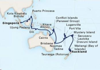 Crucero Isla de las Especias y Odisea por el Pacífico