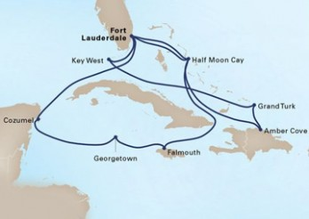 Crucero El Caribe Tropical y Occidental en Navidad