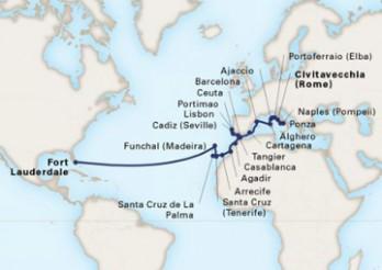 Crucero Viaje de exploración por Casablanca y el Mediterráneo
