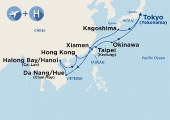 Crucero Viaje Completo por el Sudeste Asiático desde Madrid