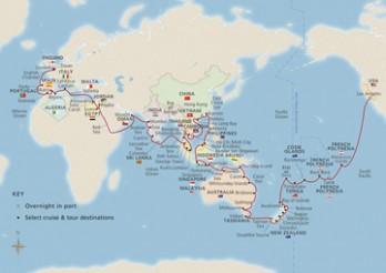 Crucero Vuelta al Mundo 2020
