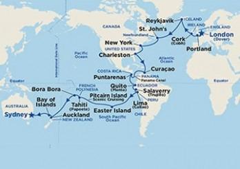 Crucero De Londres a Sídney a través de Panamá
