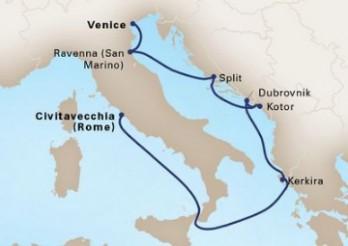 Crucero Joyas del Adriático y El Jónico
