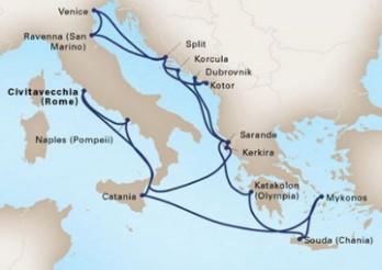 Crucero Magia del Mediterráneo