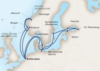 Crucero Joyas del Báltico y Leyendas Nórdicas