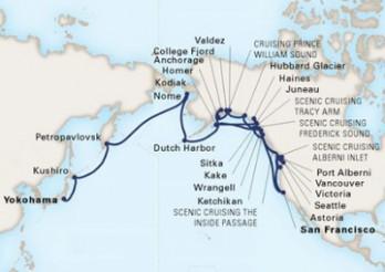 Crucero Aventura por Alaska y el Pacífico Norte