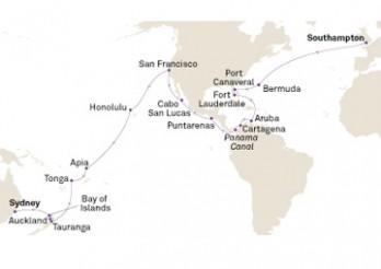 Crucero Transpacífico y Canal de Panamá