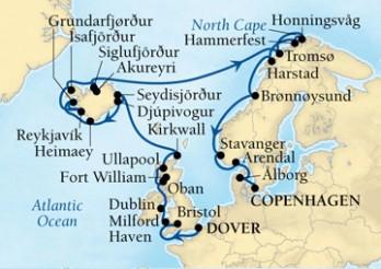 Crucero Islas Británicas y Fiordos Noruegos