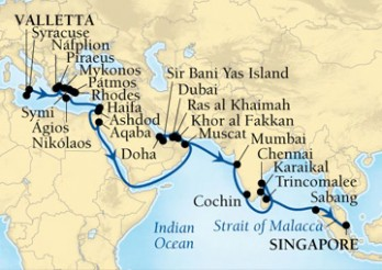 Crucero Aventura por Arabia y por la India