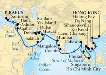 Crucero Imperios del Este