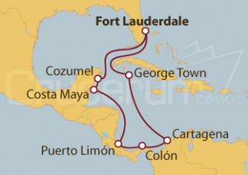 Crucero Caribe Sur y Occidental