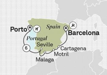 Crucero Maravillas de la Península Ibérica