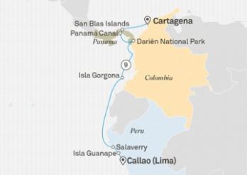 Crucero Descubre Panamá y Colombia