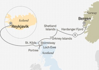 Crucero Tras los Pasos Vikingos