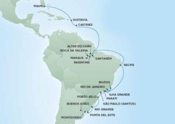 Crucero De Buenos Aires (Argentina) a Miami (EE UU)