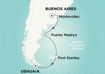 Crucero Rumbo a la Tierra del Fuego