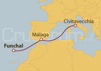 Crucero De Funchal a Civitavecchia