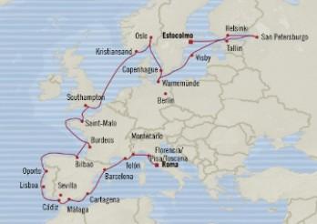 Crucero Lo Mejor de Europa