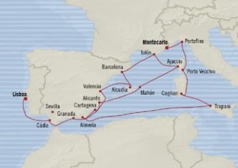 Crucero Gemas de Europa Occidental