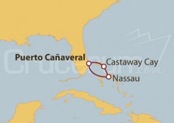 Crucero Estados Unidos y Bahamas en Navidad