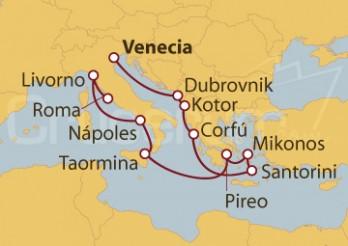 Crucero Islas Griegas y Mar Adriático