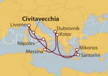 Crucero Islas Griegas y Már Adriático