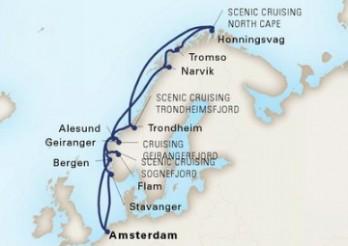 Crucero Viaje de exploración por Cabo Norte y Joyas de Noruega