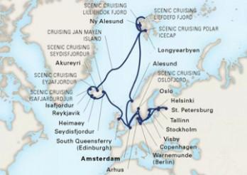 Crucero Viaje de Exploración por el Báltico, Spitsbergen y Los Fiordos Islandeses