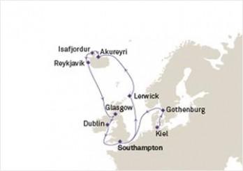 Crucero Islandia e Islas Británicas
