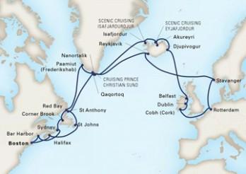 Crucero Viaje de los Vikingos