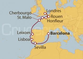 Crucero De Barcelona a Londres (Greenwich)