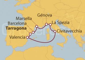 Crucero De Tarragona a Barcelona
