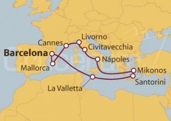 Crucero Mediterráneo Clasico