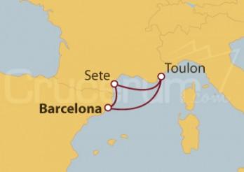 Crucero Escapada al Sur de Francia