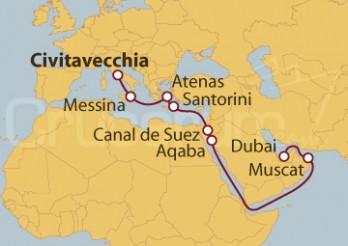 Crucero De Roma a Dubai
