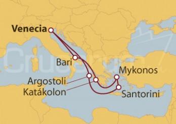 Crucero Italia y Grecia