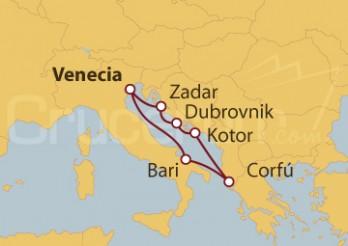Crucero Mar Adriático