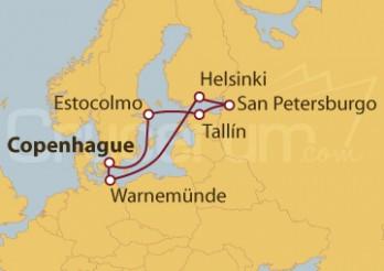 Crucero Báltico desde Copenhague