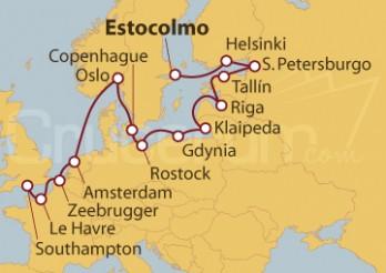Crucero Escandinavia, Rusia y Ámsterdam: El Báltico a fondo