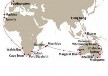 Crucero Parcial de la Vuelta al Mundo