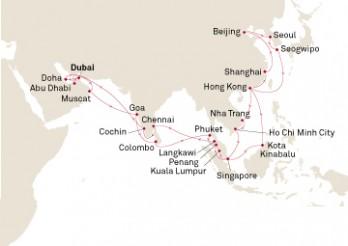 Crucero Asia al Completo desde Dubai
