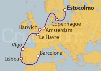 Crucero De Estocolmo (Suecia) a Barcelona
