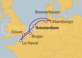 Crucero Mar del Norte desde Francia